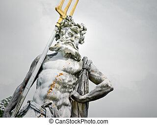 Netuno, estátua