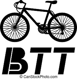 BTT icon - Creative design of BTT icon