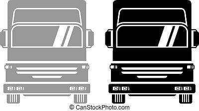 Symbol truck - Creative design of symbol truck