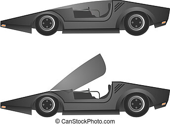Sport car - Creative design of sport car
