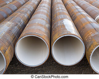 Tubes - Metal tubes lined for industrial use