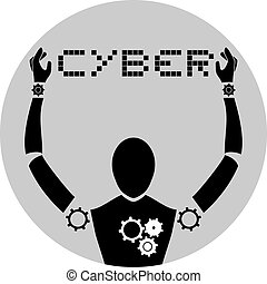 Cyber human - Creative design of cyber human