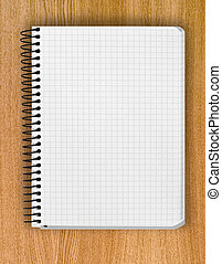 background from spiral notebook - blank background. paper...