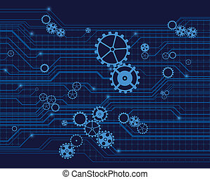technology background, vector