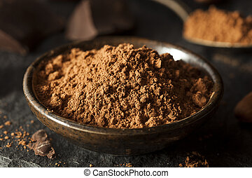 Raw Organic Cocoa Powder Used For Baking