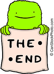 The end - Creative design of the end