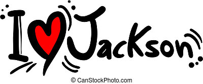 Jackson love - Creative design of jackson love