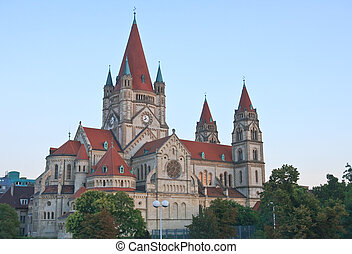 Church of St. Francis of Assisi. Vienna. Austria