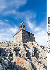 Sulphur Mountain Cosmic Ray Station - Remains of the Sulphur...