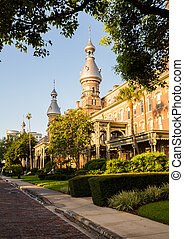 Moorish Architecture of University of Tampa - Henry B Plant...