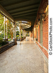 Moorish Architecture of University of Tampa - Balcony or...