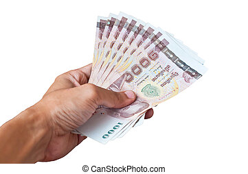 count. of thailand paper currency