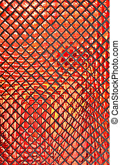 Abstrakt, rotes, hintergrund