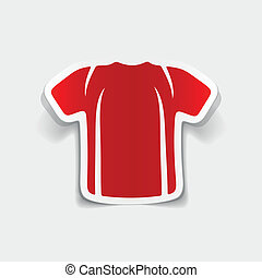 realistic design element: shirt