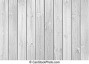 White Wood Planks as Background