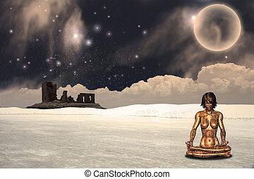 Meditation Landscape