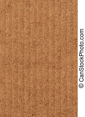 Recycle Brown Corrugated Cardboard - Photograph of recycle...
