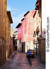 street in old  city. Logrono