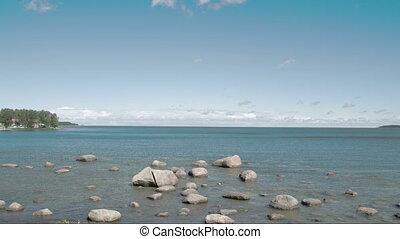 Small rocks on the sea in Estonia FS700 Odyssey 7Q - Small...