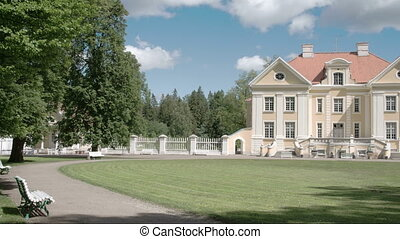 The nice place where an old manor is located in Estonia...