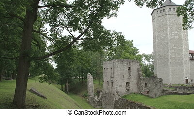 An old castle from Paide Estonia FS700 Odyssey 7Q - An old...
