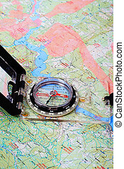 Compass on map - Compass in progress on landing maps not...