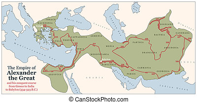 Alexander the Great Conquest Course - Conquest course of...