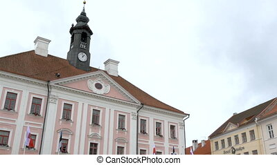 The old city hall from Tartu Estonia FS700 Odyssey 7Q - The...