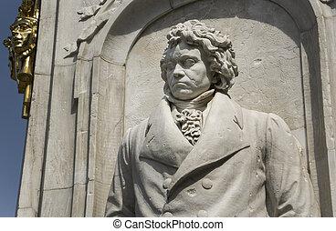 貝多芬, 雕像