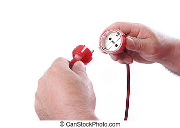 Plug in hands