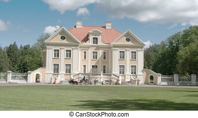 The beautiful old Palmse Manor in Lahemaa FS700 Odyssey 7Q -...