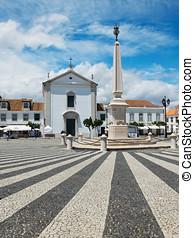 Praca Marques de Pombal Vila Real de Santo Antonio, Algarve...