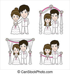 Wedding Illustration and Vector