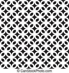 Seamless Geometric Art Deco Pattern - Abstract Seamless...