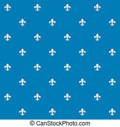 Seamless Fleur de Lys Pattern Texture Background Wallpaper