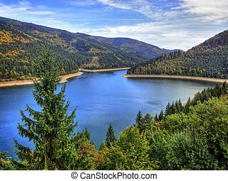 Beskydy - Dam in Beskydy mountains North Moravia Czech...