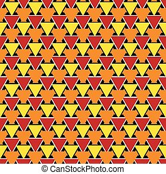 Seamless abstract geometric triangular pattern texture