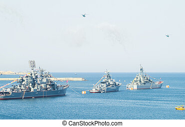 military marine sea fleet of Russia - Day military marine...