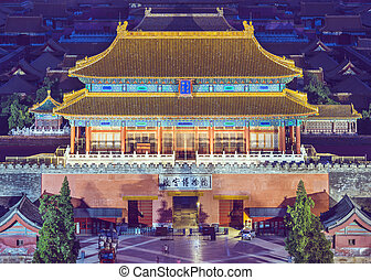 Beijing Imperial City - Beijing, China at the Imperial City...