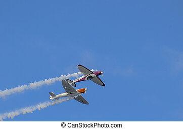 Twister Aerobatics Team - Silence Twister (G-SWIP) &...