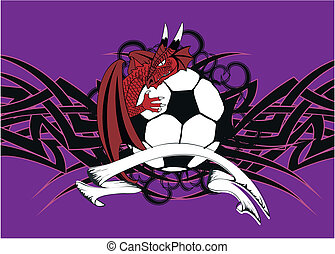 dragon crest coat of arms soccer2