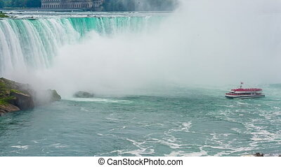 Niagara Falls view Skylon Tower - Niagara Falls view from...