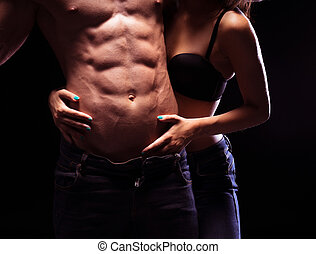 Very Sexy Male Six Pack Abs - Woman Craving Very Sexy Male...