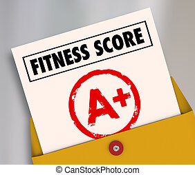 Fitness Score A+ Plus Top Grade Rating Review Evaluation Result