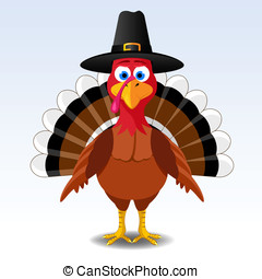 Thanksgiving turkey - Happy Thanksgiving turkey,...