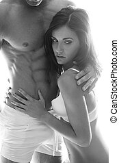 Hot Couple Flaunting Sexually Attractive Bodies - Very Hot...