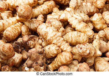 Jerusalem artichoke, sunchoke or sunroot
