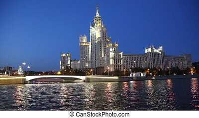 Kotelnicheskaya Embankment Building, Moscow, Russia-- is one...