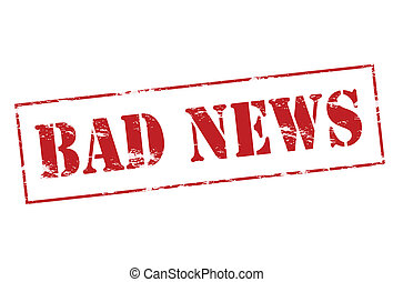 Bad News Clipart