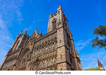 Cathedral in Trondheim Norway